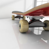 Skateboard on room — Stock Photo