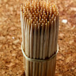 Stock Photo: Wooden toothpick