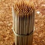 Wooden toothpick — Stock Photo