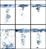 Water collage — Stock Photo