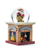 Christmas snow globe — Stock Photo