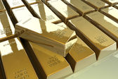 Gold treasure — Stock Photo