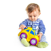 Baby play — Stock Photo