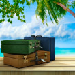 Paradise destinations — Stock Photo