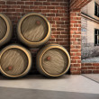 Wine Pipes — Stock Photo
