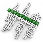 Crossword travelling — Stock Photo