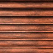 Prateleiras de madeira — Foto Stock