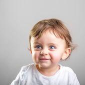 Bebé sonriente — Foto de Stock