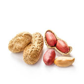 Cacahuetes en cáscara — Foto de Stock