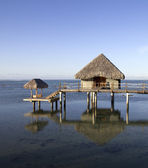 Sobre o bangalô de água — Foto Stock