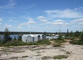Tundra tábor — Stock fotografie