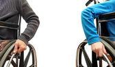 Cadeira de rodas — Fotografia Stock
