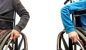 Silla de ruedas — Foto de Stock