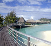 Bora bora paradise — Stock Photo