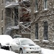 Stock Photo: Montreal after storm