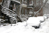 Montreal after storm — Stock Photo