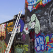 Colourful graffiti — Stock Photo