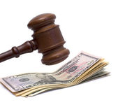 Justice and money — Stock Photo