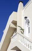 Santorini evi — Stok fotoğraf