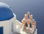 Santorini church — Stock Photo