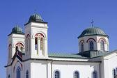 Naoussa kerk — Stockfoto