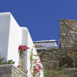 Stock Photo: Mykonos villa