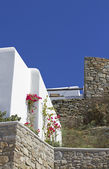 Mykonos villa — Stock Photo