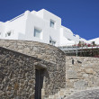 Mykonos villa — Stock Photo