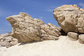 Sand rocks — Stock Photo