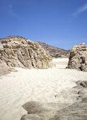 Opoka piasek i niebo — Zdjęcie stockowe