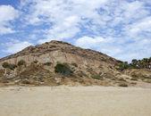 Pedra de areia e céu — Foto Stock