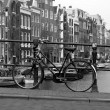 Black and white amsterdam — Stock Photo #45912769