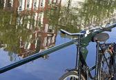 Amsterdam fahrrad — Stockfoto