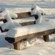 Stock Photo: Bench seat