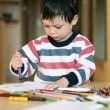 Child drawing — Stock Photo #22182389