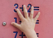 Children maths — Stock Photo
