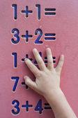 Children maths — Stock Photo