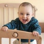 Happy baby — Stock Photo #24003285