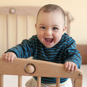 Happy baby — Stock Photo