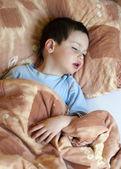 Ill or sick child — Stock Photo