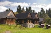 Casas na zona rural — Fotografia Stock