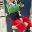 Child playing at playground — Stock Photo