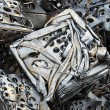 Metal recycling — Stock Photo