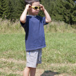 Stock Photo: Child with sunglasses