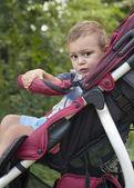 Dítě v kočárku — Stock fotografie