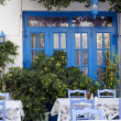 Street restaurant in Greece — Stock Photo #38167117