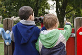 Children at playground — Stock Photo
