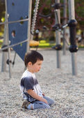 Lonely bored child — Stock Photo