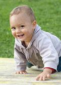 Happpy barn — Stockfoto