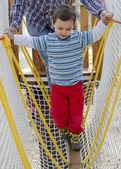 Kind op speeltuin — Stockfoto